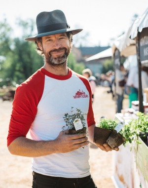 Jordan Sly, Wormticklers Nursery founder, says to keep it simple when it comes to growing your own herbs ad vegetables ...