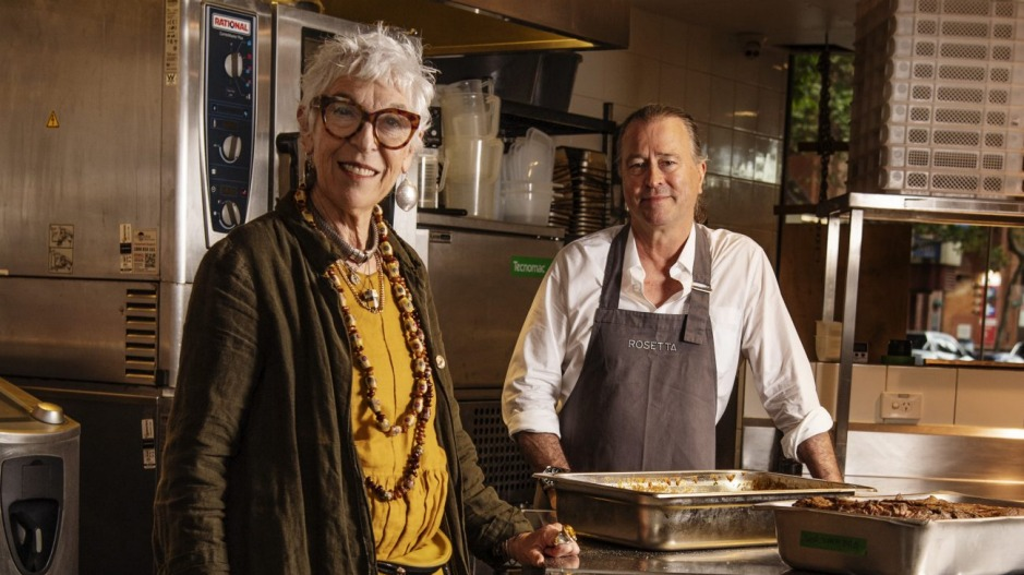 Chef Neil Perry and OzHarvest chief executive Ronni Kahn hope to make a difference for overseas workers.
