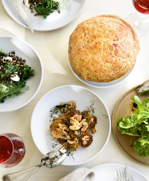 Cutler and Co is returning for a Mother's Day cameo with spiced duck pie  and sides.
