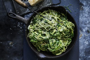 Pack your favourite pasta dishes with brightly coloured vegetables.