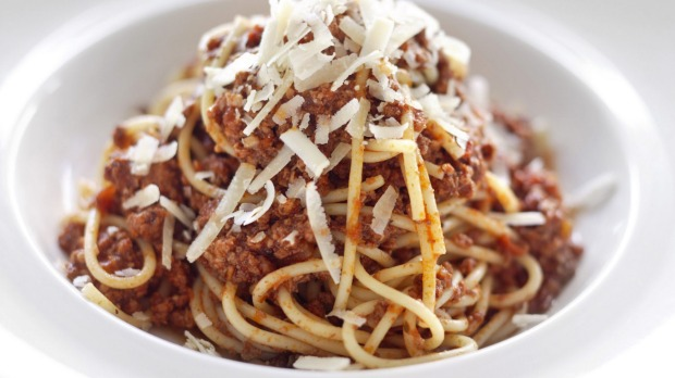 What does making spaghetti bolognese say about us? Lots actually.