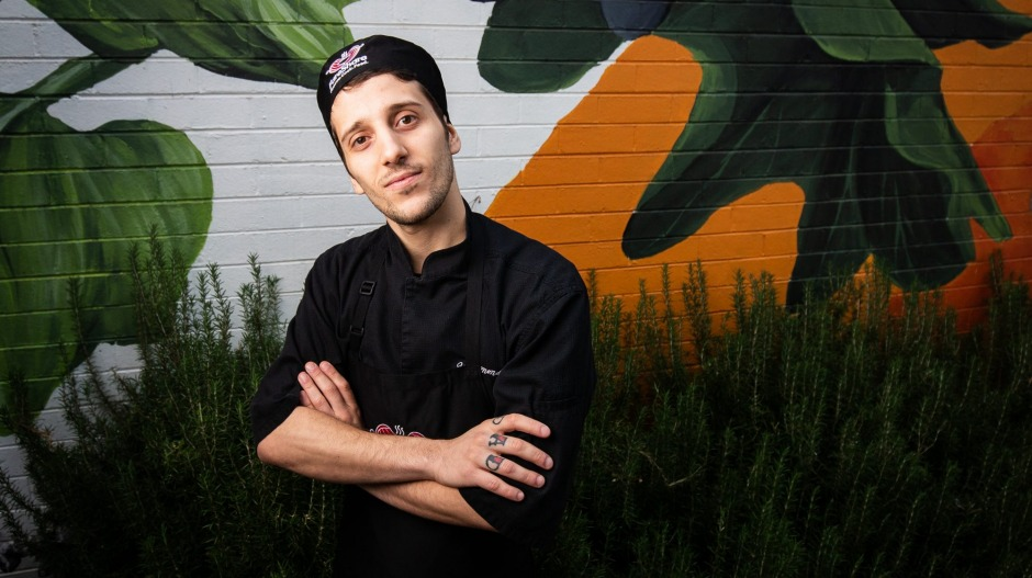 Chef Daniele Vischetti, previously of Vue de monde,  now works at FareShare.