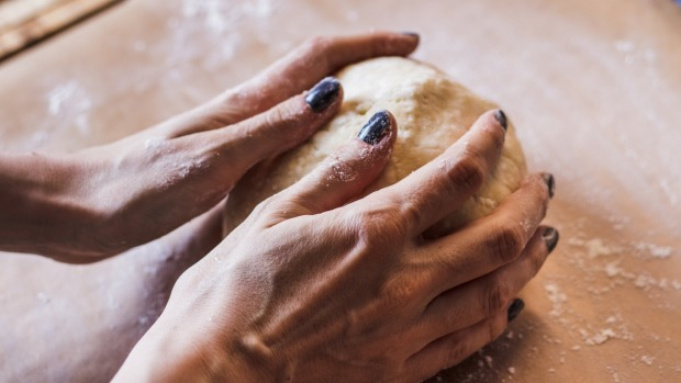 You need to knead and rest the dough to develop the gluten and help it hold a lot of gas.