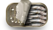 Tinned sardines can provide maximum flavour for minimum effort