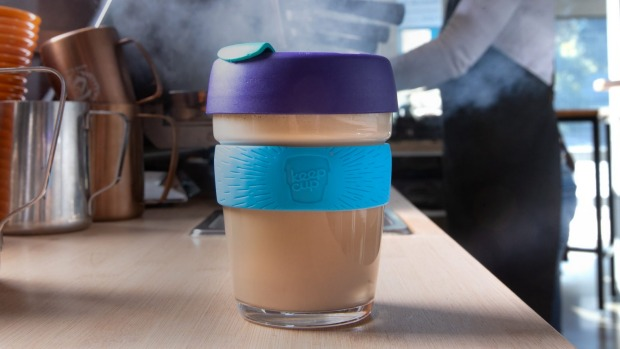 You can use your Keep Cup again, but only if you're not sick at all and it's really clean.
