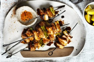 Neil Perry's yakitori skewers