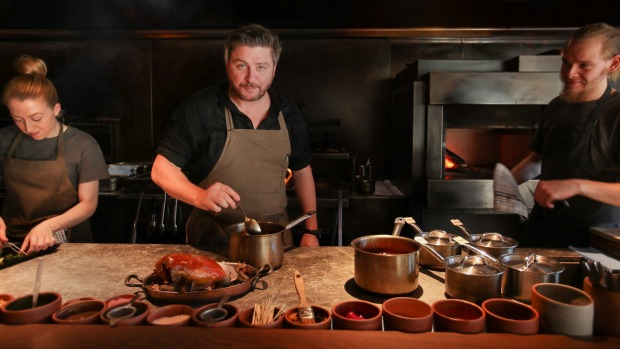 Matilda chef Scott Pickett says it will be a challenge to make his South Yarra restaurant profitable with 20 customers ...
