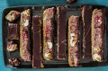 Cherry Garcia slice. Updated slice recipes for Good Food, March 2020. Images and recipes by Katrina Meynink. Good ...