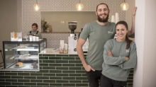 Although many food businesses are struggling during the coronavirus pandemic, Andrew and Annie Schreurs have just opened ...