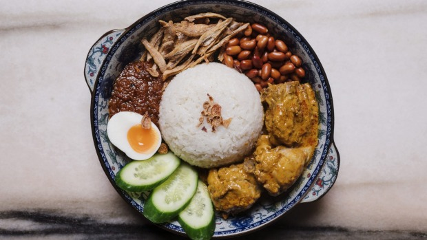 If you're after just one dish, go for the nasi lemak.