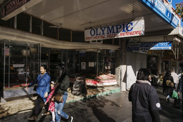 The Olympic Continental Deli and Butchery.