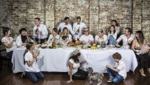Rozelle eatery Le Coq invited local photographer John McRae to take portraits of loyal regulars.