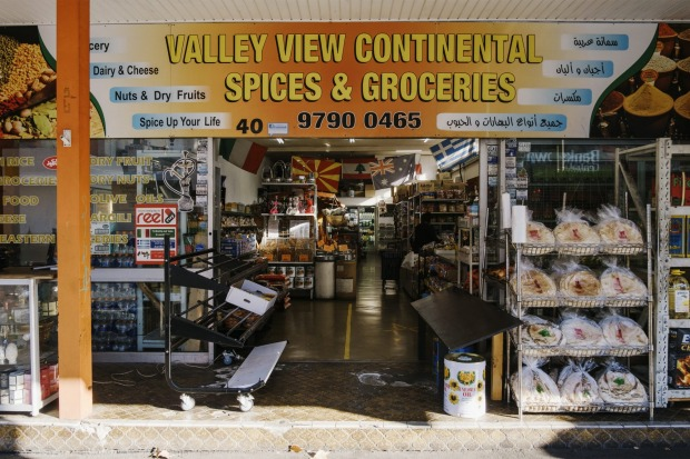 Valley View Continental Spices & Groceries storefront.