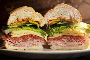 Neil Perry's ultimate deli sandwich - hold the tomato.