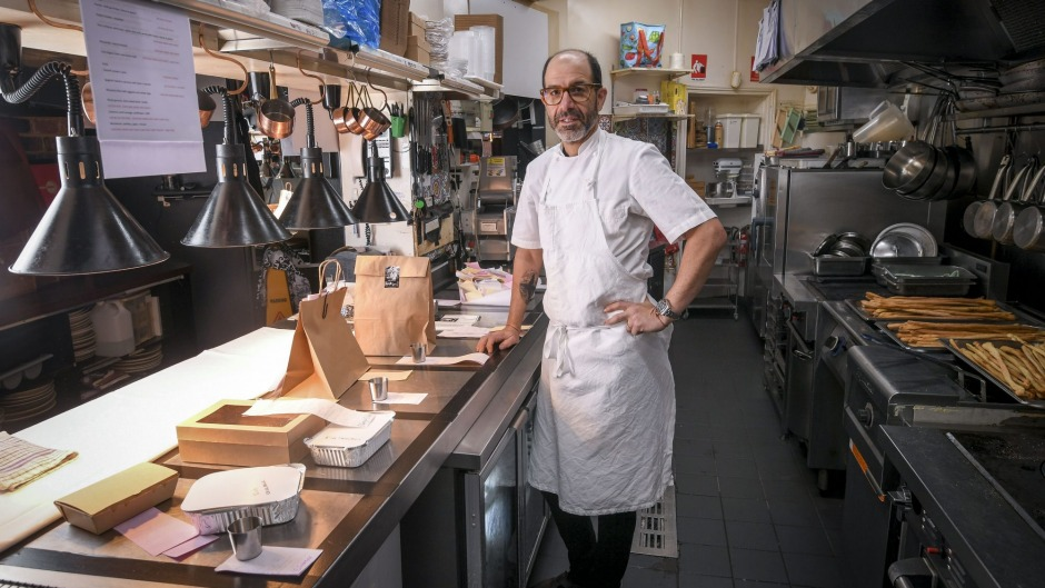 For Mister Bianco owner-chef Joseph Vargetto the timing is especially terrible.