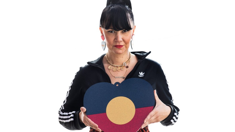Pride of place: Keen to support First Nations businesses such as jewellery artist Kristy Dickinson from Haus of Dizzy? ...