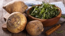 Swede or rutabaga is inexpensive and versatile.