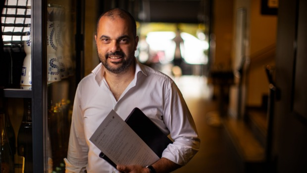 Publican Rabih Yanni, owner of the Botanical Hotel in South Yarra.