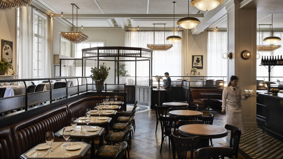Gimlet brings to mind big-ticket brasseries found in London and New York.