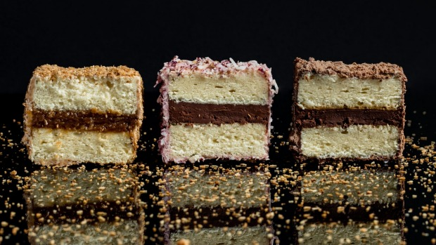 Flavours from left to right: Caramelised coconut, Davidson plum and Sao Thome, triple chocolate.