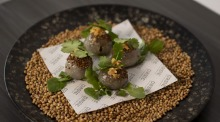 Everybody's favourite: Smoked trout tapioca dumplings are squishy, nutty and moreish.