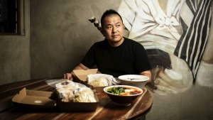 Keita Abe comes from the kitchen of Chaco Ramen in Darlinghurst.