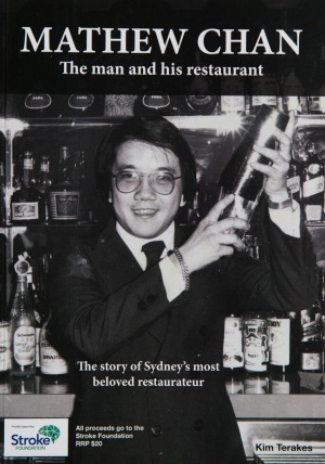 Chan's biography is now available from Peacock Gardens with all proceeds going to the Stroke Foundation.
