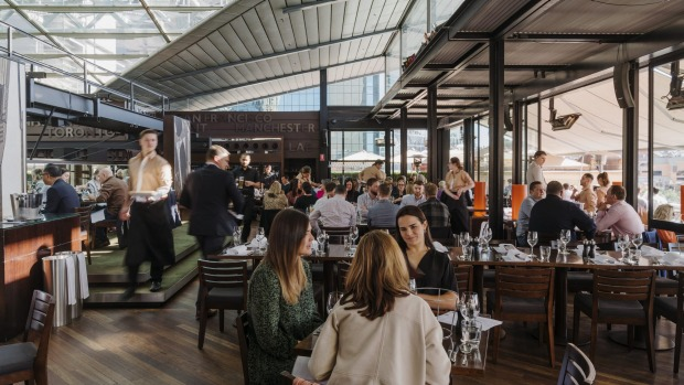 After lockdown, Cafe Sydney's views out to the Harbour Bridge seem more enticing than ever.