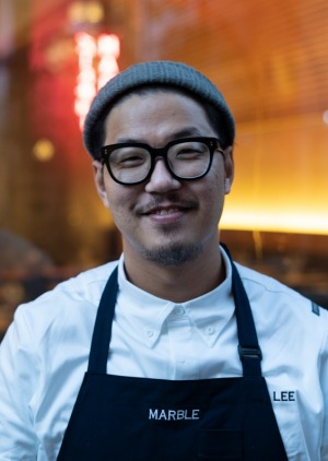 Executive chef Jabob Lee of Marble, Barangaroo.