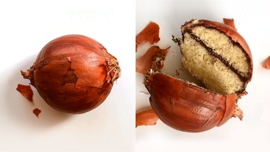 This onion won't make you cry when you slice it.