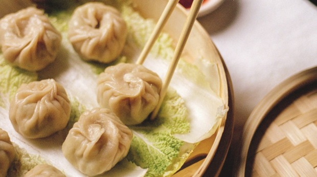 **EMBARGOED FOR Good Food September 27, 2020** Potato and leek momos. Recipe from To Asia, With Love by Hetty McKinnon. Book extract for Good Food September 27, 2020. Not to be used for any other purpose.