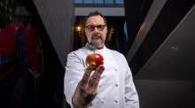 Chef Martin Benn has set an epic toffee apple project for tonight's semi-final.
