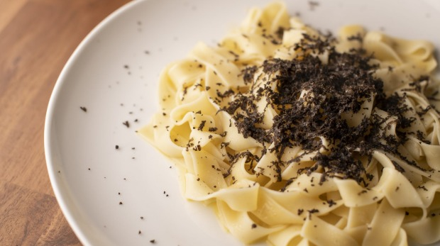 Fettuccine with Canberra truffles is the only time the menu breaks the bank.