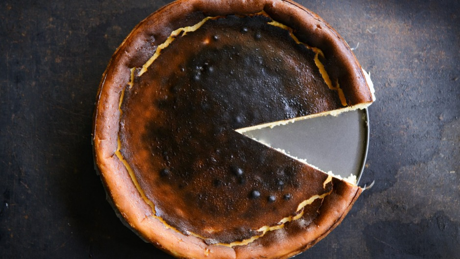 The Basque cheesecake from Melbourne's Marion.