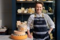 Olivia Sutton of Harper and Blohm cheese shop in Melbourne.