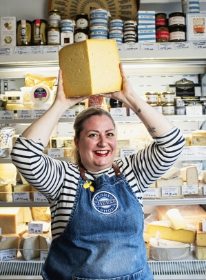Penny Lawson of Penny's Cheese Shop, Potts Point.