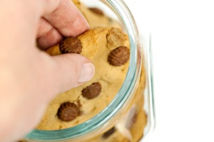 Step away from the cookie jar.