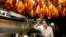 BBQ King owner Philip Chau in the kitchen at the new Liverpool Street premises in 2016.