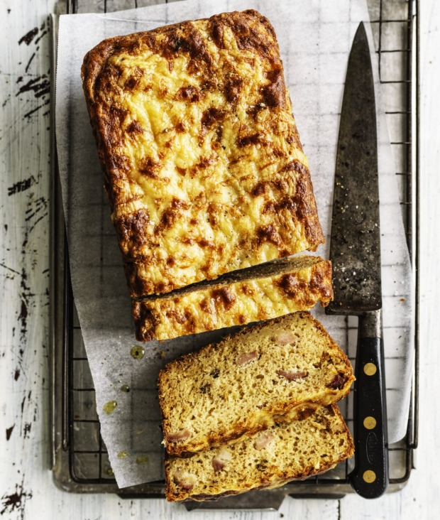 Serve this quickbread alongside soup or salad.