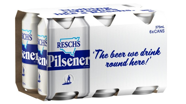 Resch's new Silver Bullet cans, available in bottle shops from August 15.