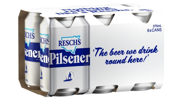 """Resch's """"Silver Bullet"""" cans, rereleased by Carlton in August."""