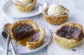 Rum, raisin and butter tarts.