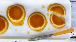 Muffin pan flans.
