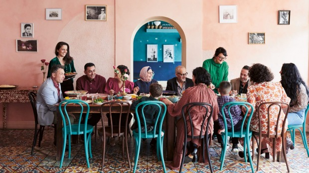 The Ayubi family share the culture of their homeland at their Adelaide restaurant.