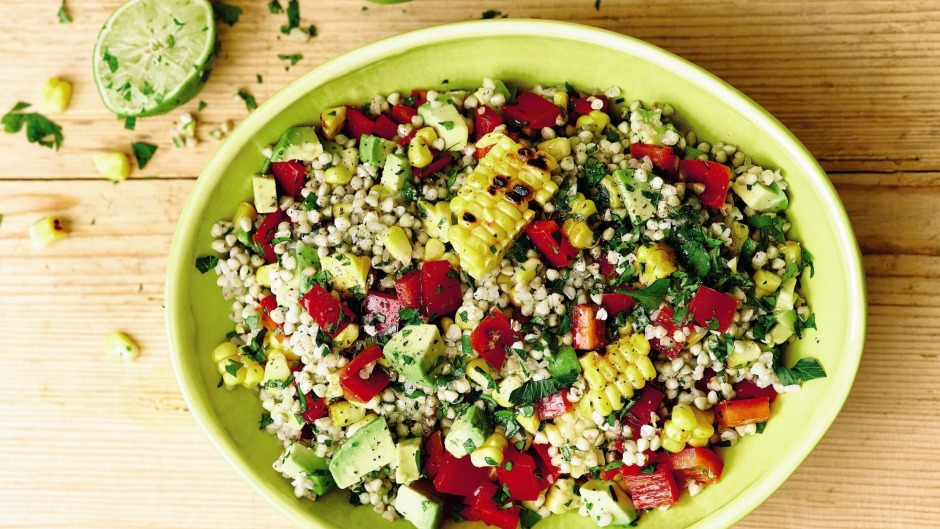 Nourishing buckwheat bulks up this colourful protein-packed salad.