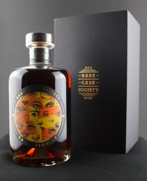 Rare Cask Society have released their third Whisky Art Project bottle.