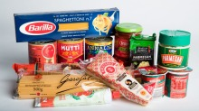 Essential ingredients: These spaghetti, tinned tomatoes, tomato paste and parmesan products were tasted.