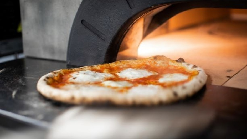Mozzarella and basil pizza will be on Brent Savage's menu.