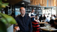 """""""It needs to be as easy as possible for people to dine with us."""" Brent Savage, at Cirrus, Barangaroo,"""