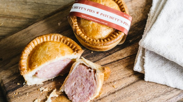 Patchett's Yorkshire-style pork pies made in Sydney.